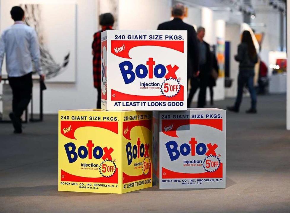 Heiner Meyer: Botox-Box    Foto: Uli Deck (dpa)