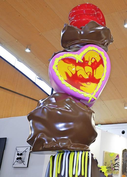 Peter Anton: Chocolate Tower    Foto: JUERGEN ROESNER