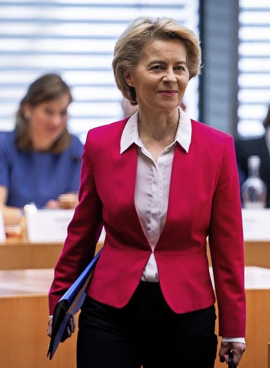 EU-Kommissionspräsidentin Ursula von der Leyen   | Foto: Kay Nietfeld (dpa)