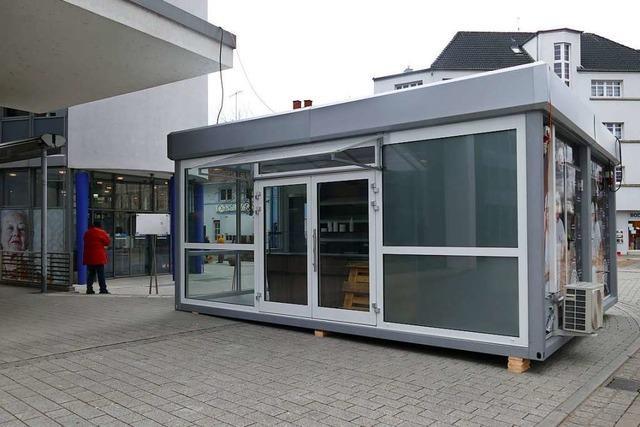 Ab Montag gibt's in Rheinfelden Brötchen im Container