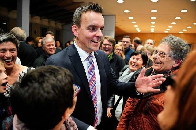 Friesenheims Bürgermeister erinnert sich an seine Wahl vor vier Jahren
