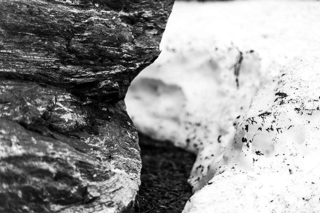 In den Höhenlagen wird der Schnee immer weniger.  | Foto: Carlotta Huber