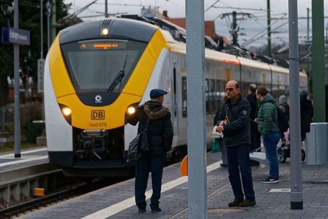Fahren die Züge ab Montag pünktlicher mit neuem Fahrplan?