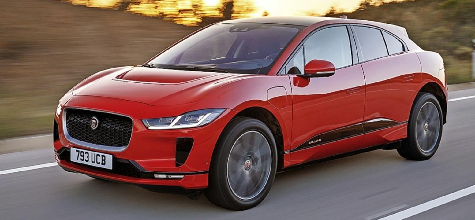 Auch Jaguars I-Pace verfügt  dank eines Motorenduos über einen Allradantrieb.    Foto: Jaguar