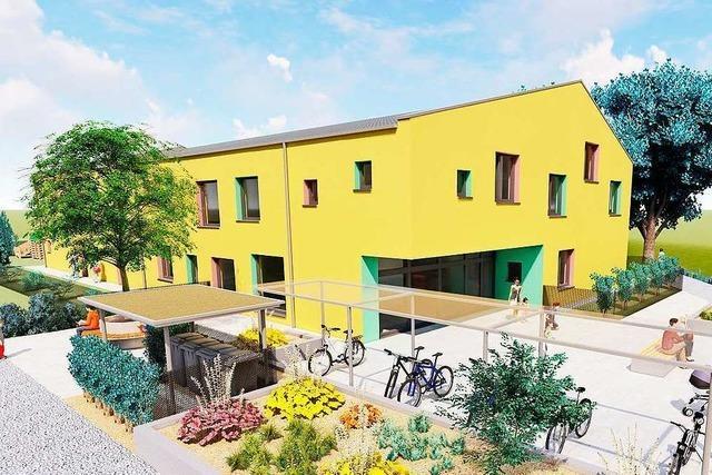 Spatenstich für den neuen Kindergarten auf dem Gesundheitscampus in Bad Säckingen