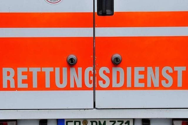 Fußgängerin wird in Lörrach vom Auto erfasst und leicht verletzt