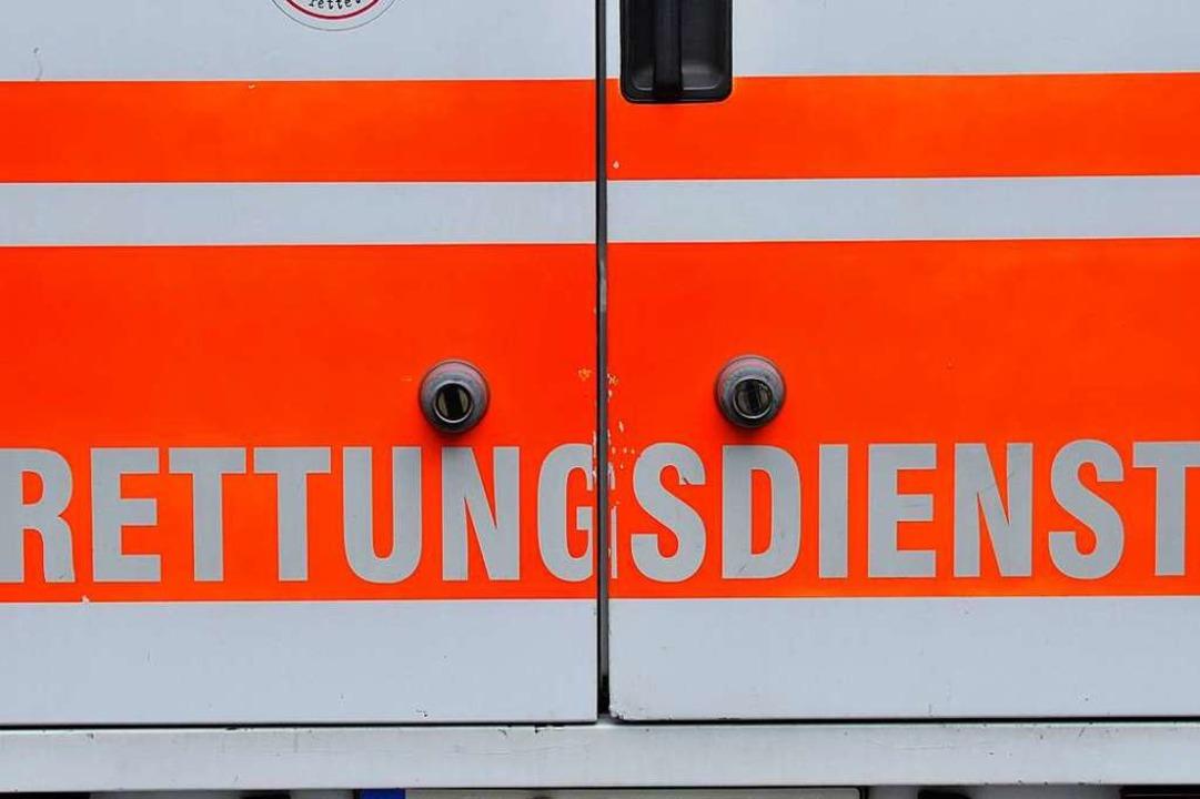 Die verletzte Frau wurde ins Krankenhaus gebracht (Symbolfoto).  | Foto: Ingo Schneider
