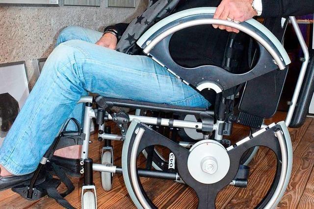 Weltneuheit aus der Region erleichtert Behinderten den Alltag