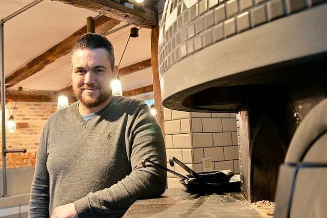 Christian Brombacher backt nur noch Pizza und keine Weckle mehr