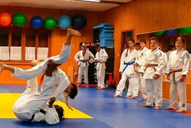 Judo-Bundestrainer leitet offene Stunden beim Gundelfinger Turnverein