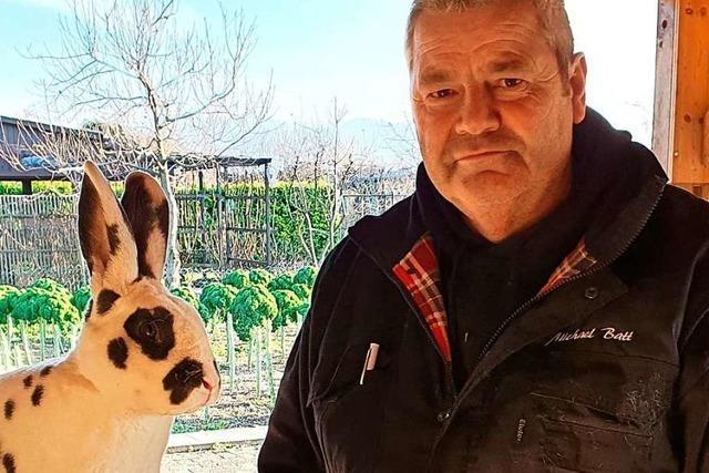 Dalmatiner-Kaninchen eines Pfaffenweiler Züchters räumen bei Bundeskaninchenschau ab