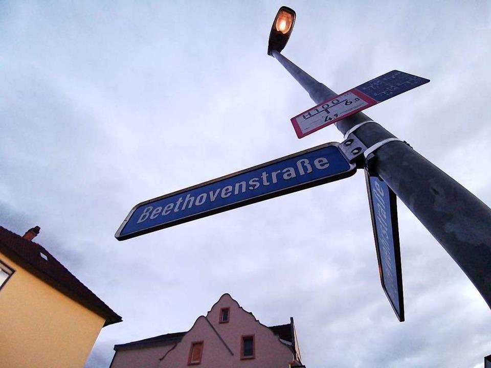 Waldkirch hat eine Beethovenstraße – so wie zwei weitere Orte im kreis.    Foto: Patrik Müller