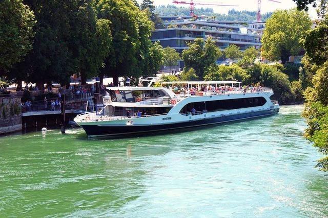 Basler Schifffahrt steuert vier Mal pro Woche Rheinfelden/Schweiz an