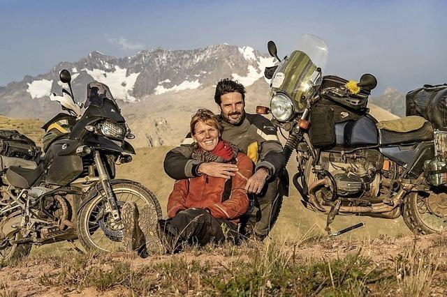 Daniel Rintz zeigt den zweiten Teil seiner Weltreise auf dem Motorrad