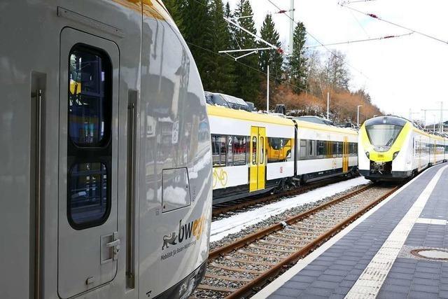 Am Montag startet das neue Konzept der Breisgau-S-Bahn