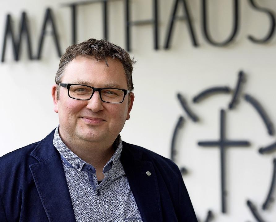 Der 46-jährige David Geiß kommt in ein...Pfarrerinnen und Pfarrer im Einsatz.    | Foto: Ingo Schneider