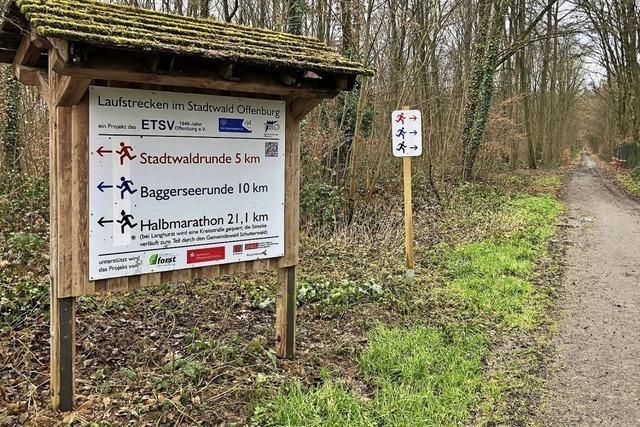 Stadtwald-Strecken neu ausgeschildert