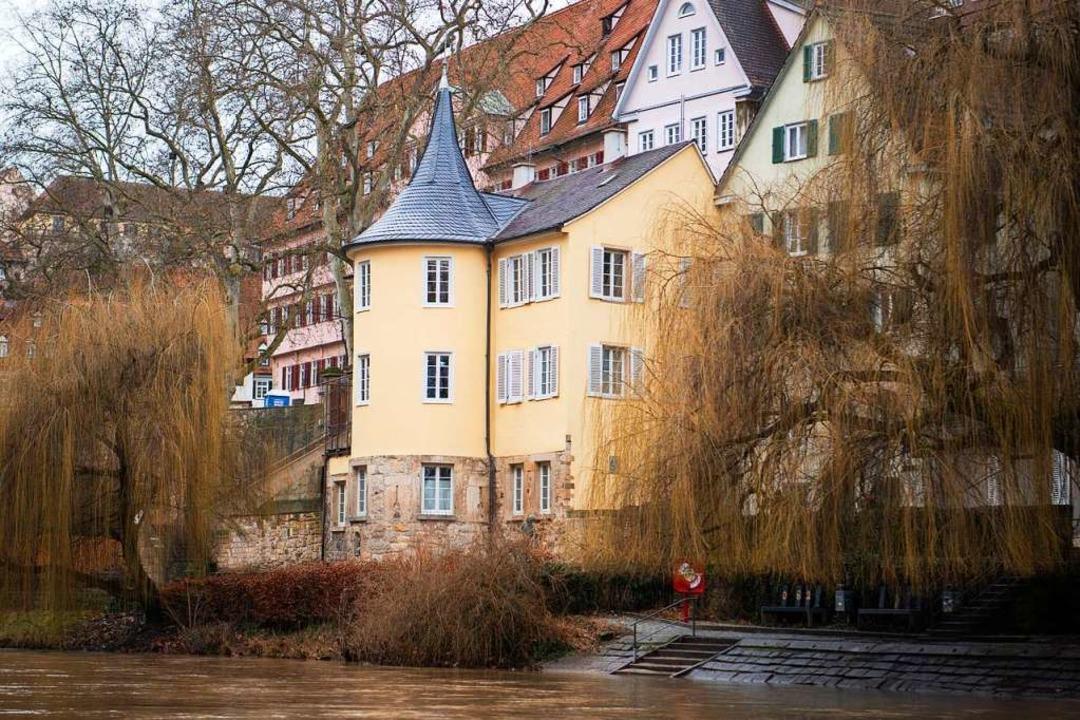 Hölderlinturm in Tübingen  | Foto: Tom Weller (dpa)