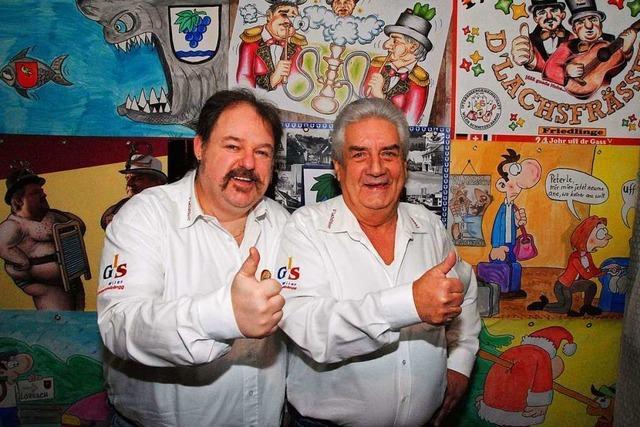 Das Weiler Schnitzelbank-Duo