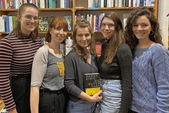 Junge Autoren zu Gast in WGs