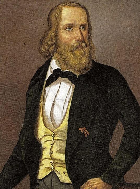 Friedrich Hecker (1845)  | Foto: Gemeinde Angelbachtal