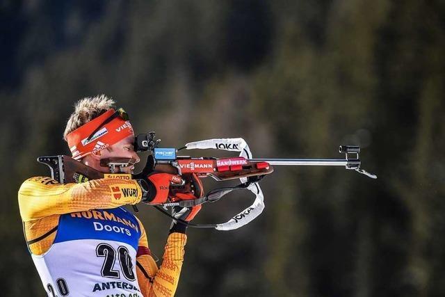 Keine Medaille für deutsche Biathleten im Männer-Sprint
