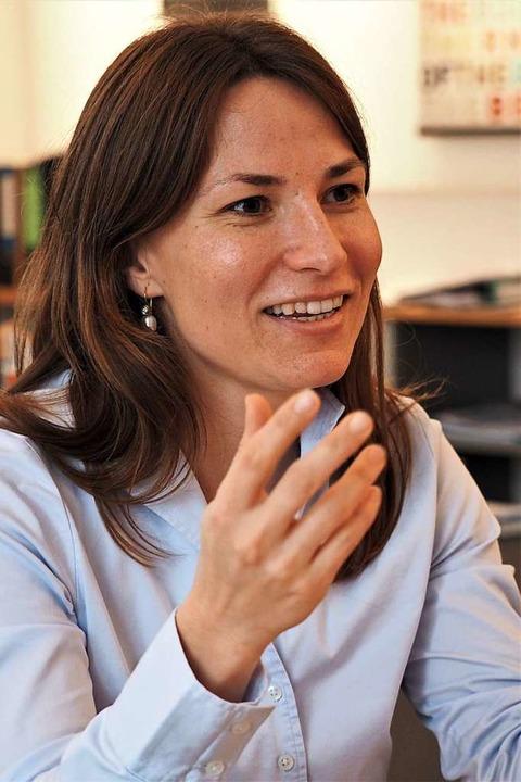 100 Tage im Amt: Titisee-Neustadts Bür...sterin Meike Folkerts im BZ-Interview.  | Foto: Susanne Gilg