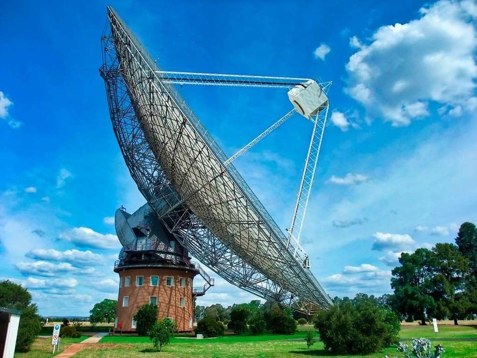 Das Parkes-Radioteleskop in Australien  | Foto: - (dpa)
