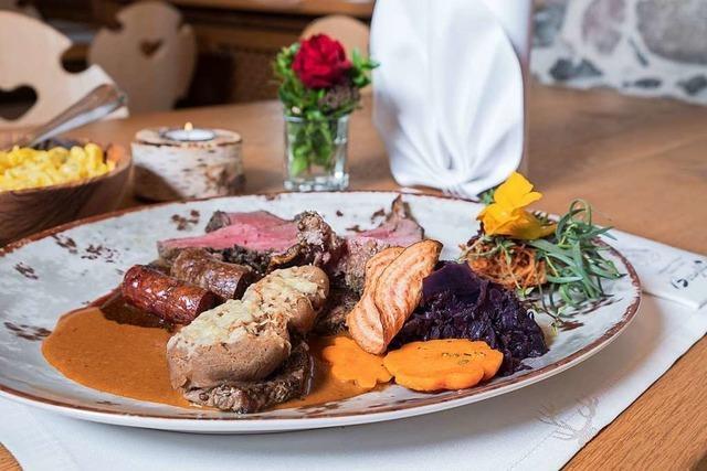 Küchenchef vom Gasthof Bergblick in Bernau jagt höchstpersönlich