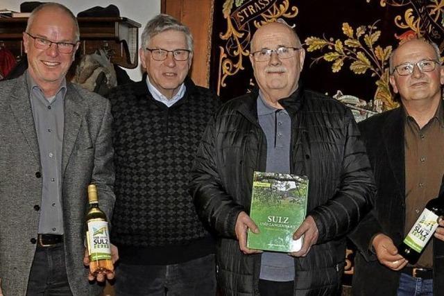750 Jahre Ortsgeschichte aus Sulz auf 663 Seiten