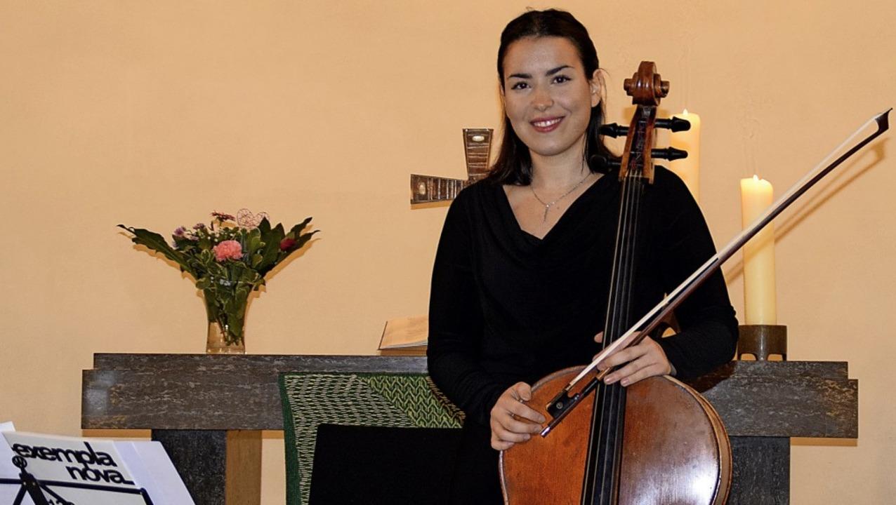 Mit Kostbarkeiten der Cellomusik von B...gkeit und Virtuosität auf dem Cello.    | Foto: Bernadette André