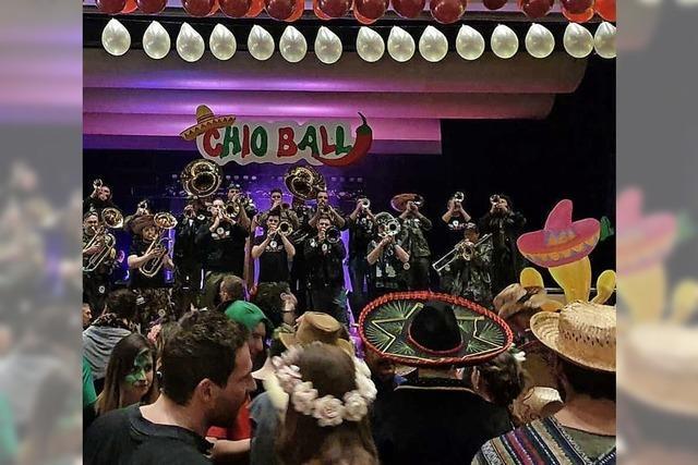 Chio Maicos feierten mexikanisch