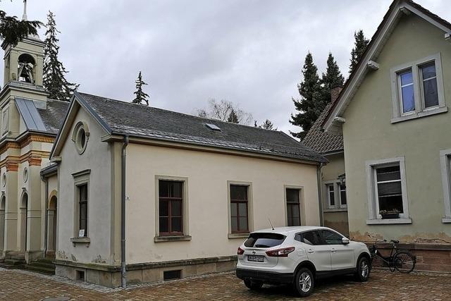 Das alte Friedhofwärterhaus wird abgerissen