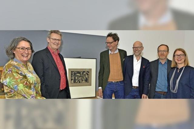 Schenkung ans Museum für neue Kunst