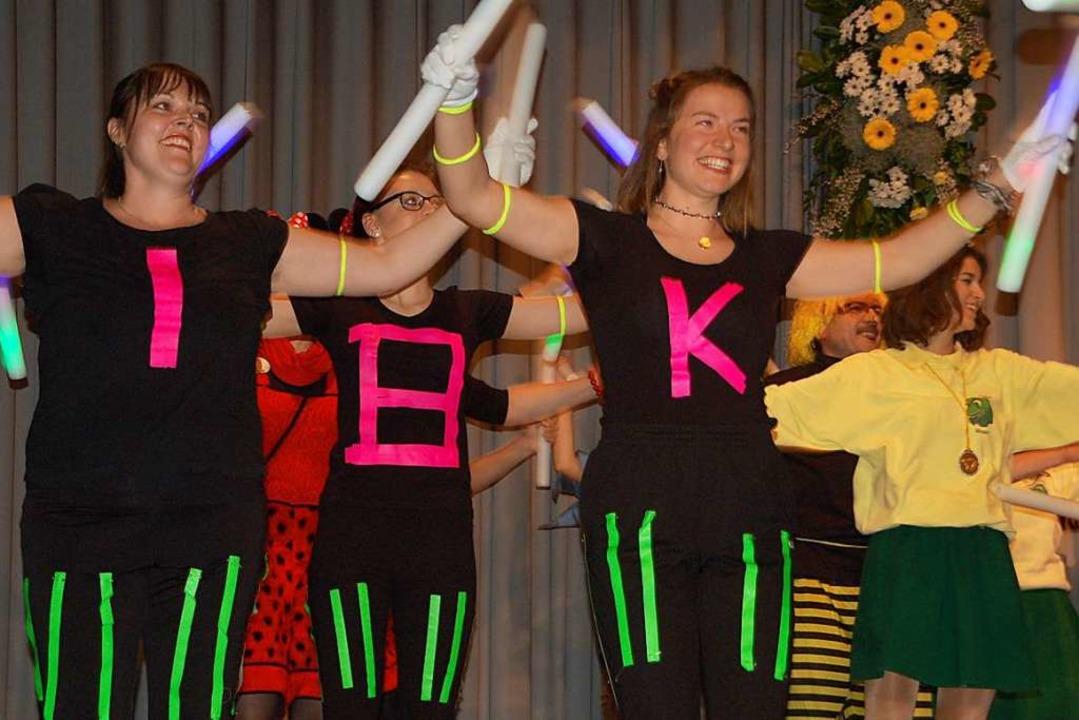 Eine starke Truppe die Fit Dance des SC Minseln    Foto: Petra Wunderle