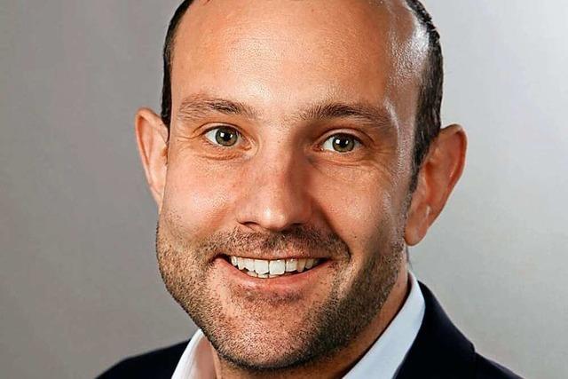 Christoph Zachow wird neuer Bürgermeister von Heitersheim