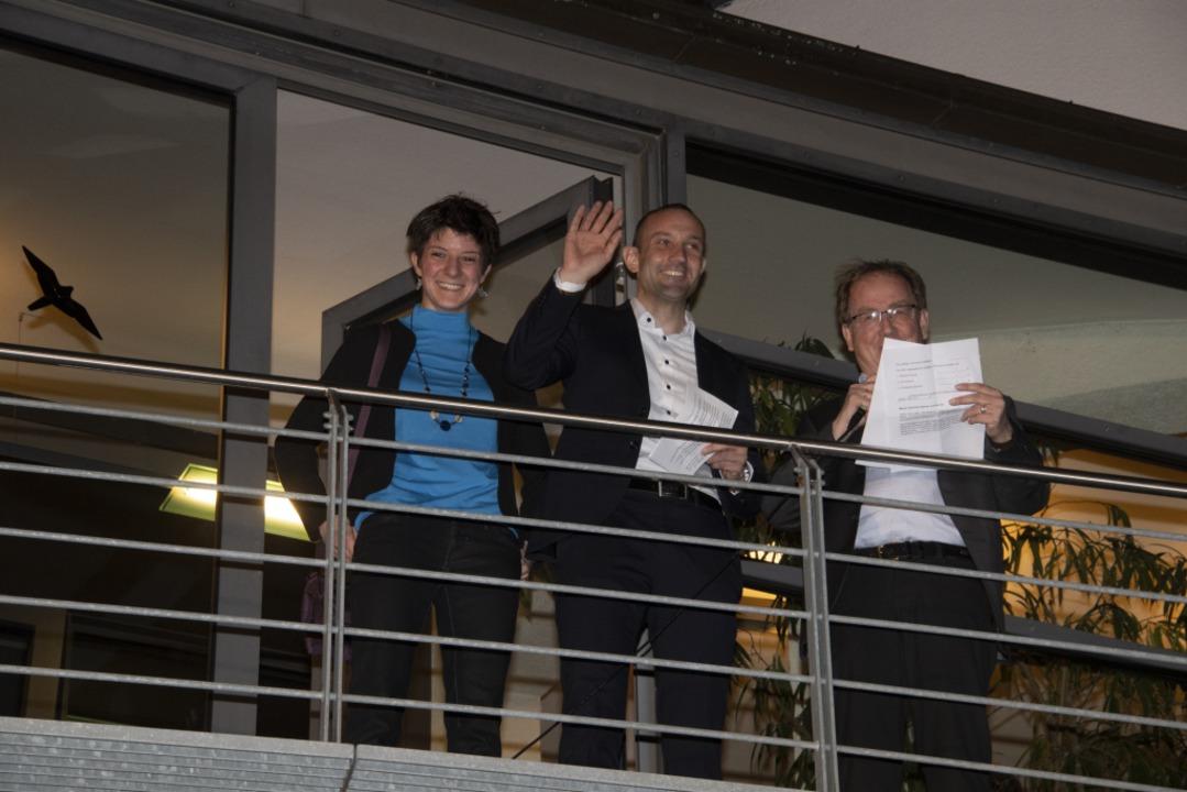 Christoph Zachow steht als Sieger fest  | Foto: Volker Münch