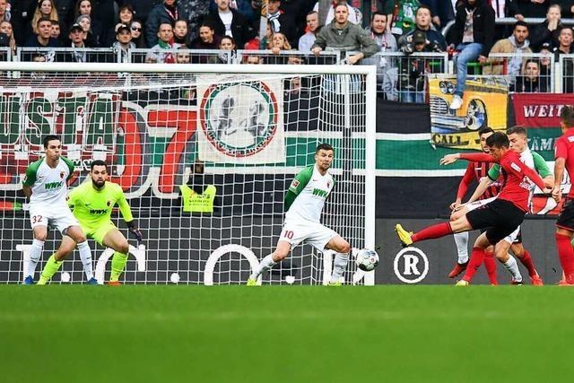 1:1 in Augsburg: Nur in der Königsdisziplin klappt es nicht