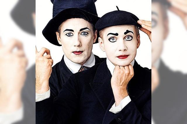 Pantomime im Theater