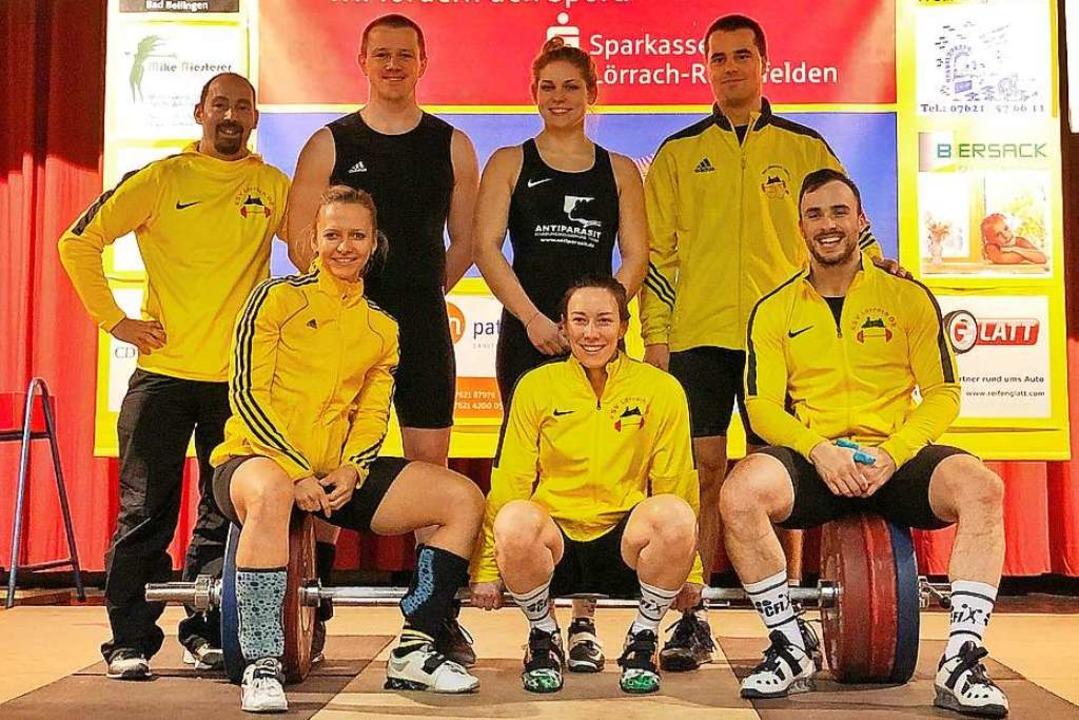 Das KSV-Team gegen Speyer (hinten von ...Heilgeist, Beata Jung und Seán Brown.   | Foto: Privat