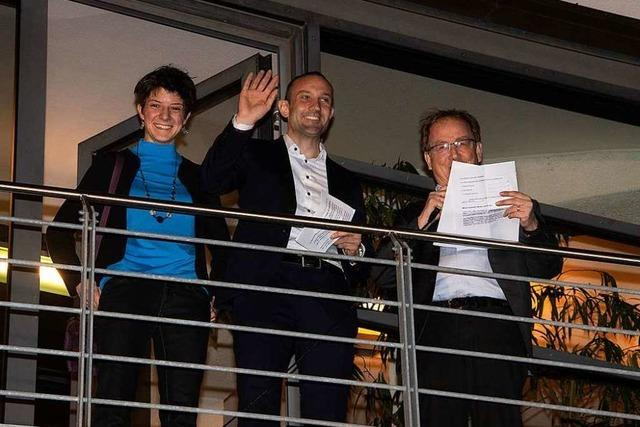 Fotos: Heitersheimer wählen im zweiten Wahlgang ihren Bürgermeister