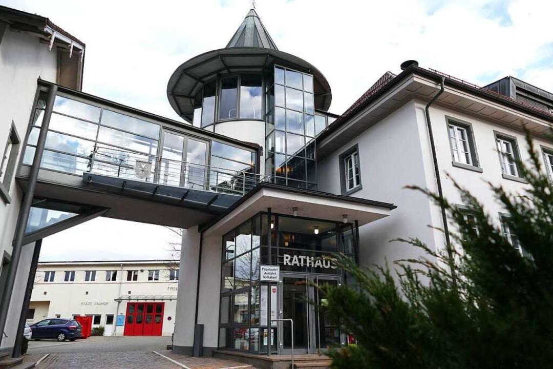 Das Rathaus von Heitersheim  | Foto: Sophia Hesser