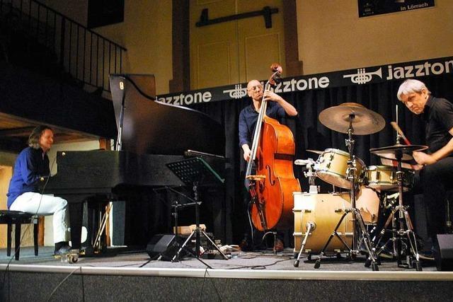 Feinste Jazzmusik mit dem Walter Lang Trio im Lörracher Jazztone