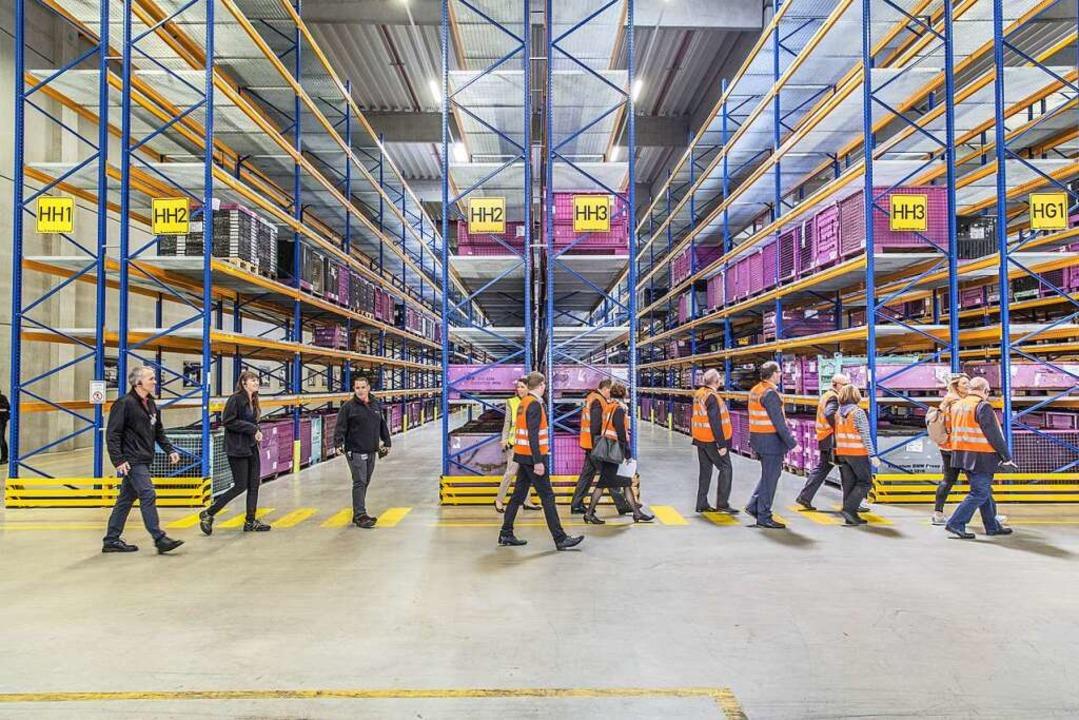 Logistik ist in jedem Lebensbereich er...igten beim Tag der Logistik sichtbar.   | Foto: PR / Schenker AG