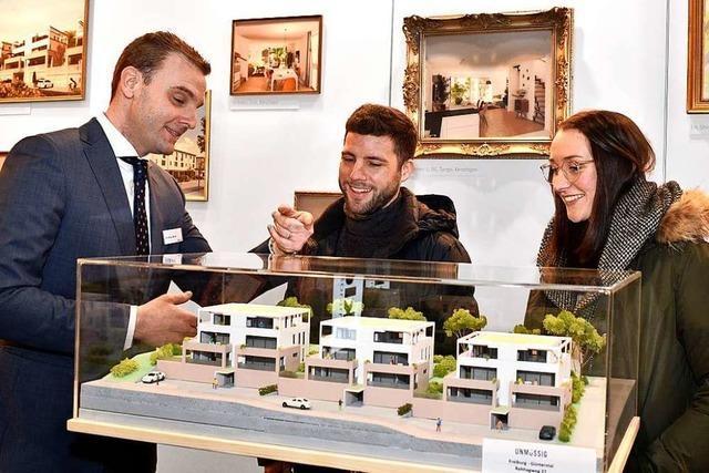 Freiburger Immo-Messe präsentiert Traumhäuser statt bezahlbaren Wohnraum