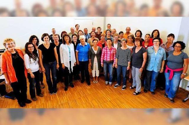 Purple Chariots: Singen in einer großen Familie