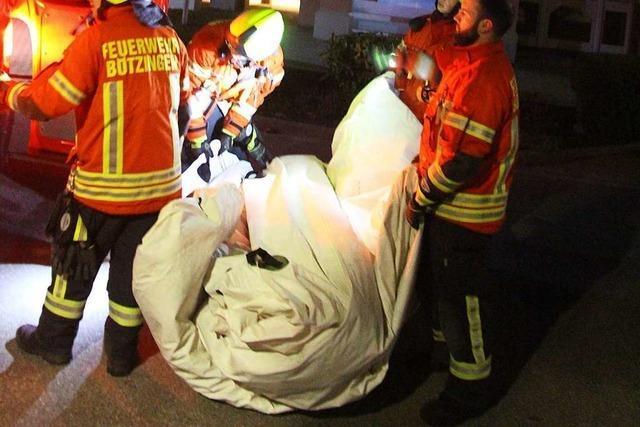36-Jähriger hält Polizei und Feuerwehr in Bötzingen drei Stunden lang in Atem