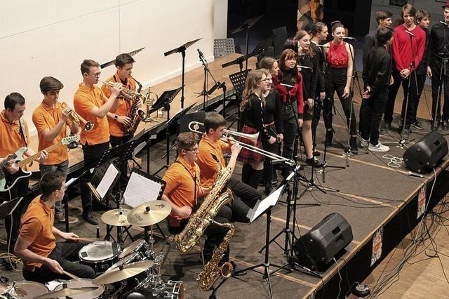 Mit Saxophon, Swing und Spaß