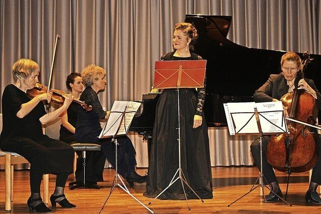 Leise Momente treffen orchestrale Fülle