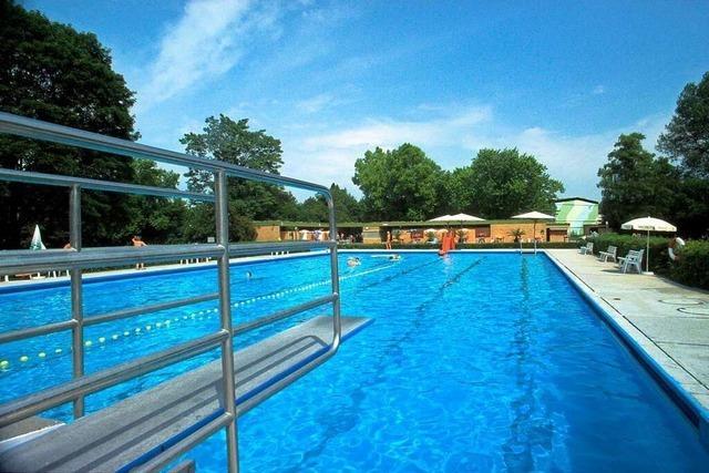 Mehr Platz zum Baden: Das Thermalsportbad Steinenstadt wird saniert